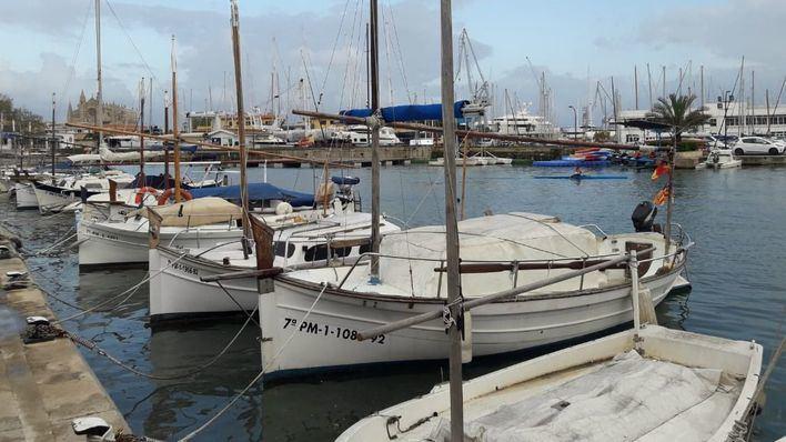 El alto coste de los amarres amenaza la existencia de las barcas tradicionales en Baleares