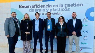 La gestión de agua y plásticos en el sector hotelero, a debate en la jornada