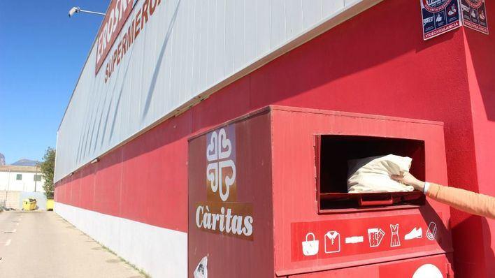 Càritas recoge 179.122 kilos de ropa en los Eroski de Mallorca