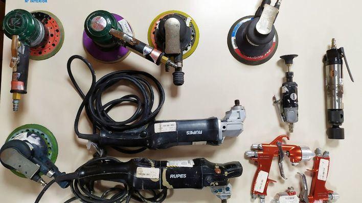 Detenido en Palma por robar en su empresa herramientas valoradas en miles de euros