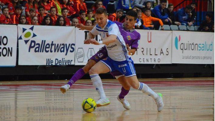 El Palma Futsal se lleva los tres importantes puntos en liza frente al Zaragoza