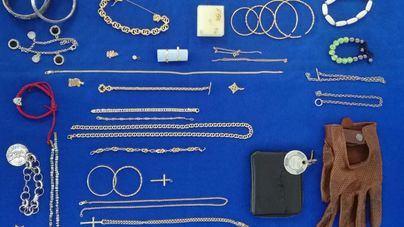 Detenida una pareja que se hizo con numerosas joyas tras varios robos en la Part Forana