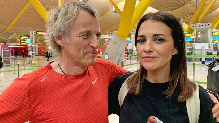 Paula Echevarría de viaje en Kenia con Jesús Calleja