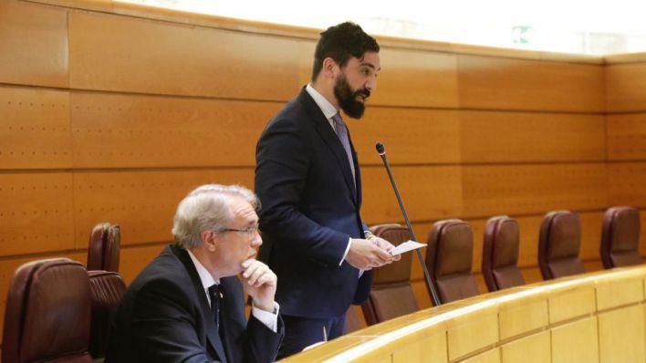 Un senador de Vox por Andalucía pregunta por la prostitución de menores tutelados en la Cámara Alta