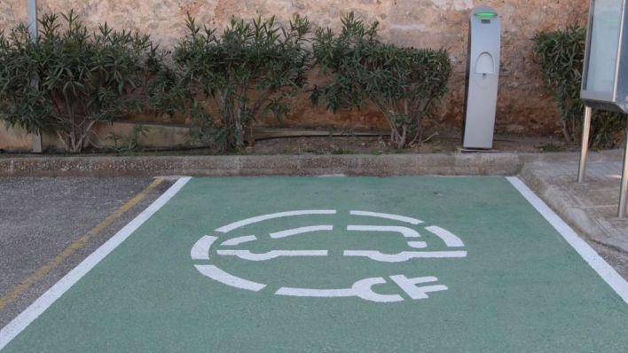 Marratxí suma un nuevo punto de carga de coches eléctricos