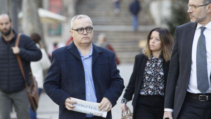 El periodista Kiko Mestre en el juicio: