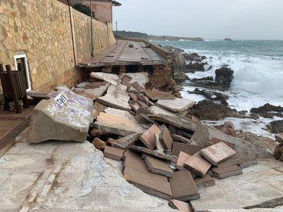 Carta urgente a Pedro Sánchez para reparar los destrozos de la tormenta Gloria en Mallorca