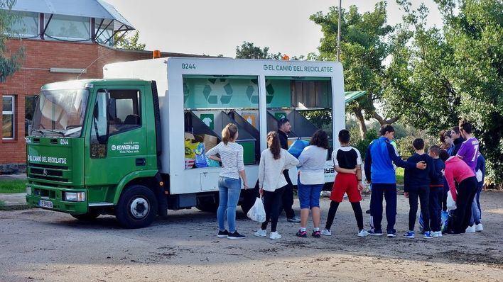 Càritas recibe 225 kilos de juguetes usados donados en Palma