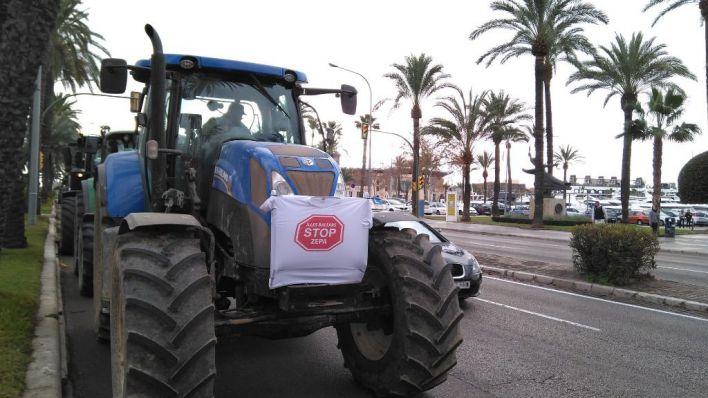 200 tractores marcharán por Palma el 7 de marzo para reivindicar 'precios justos'