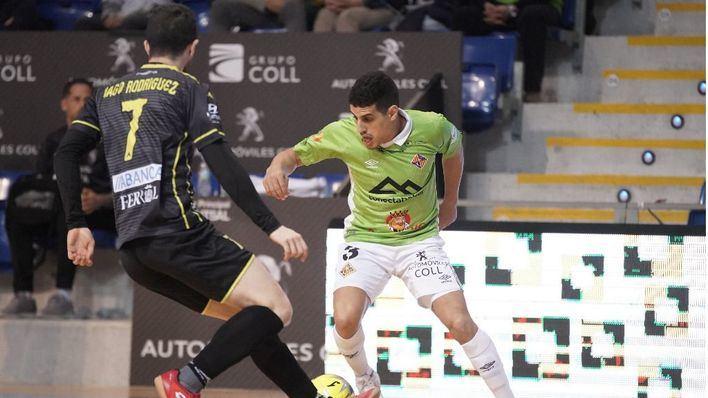Sufrida victoria del Palma Futsal ante un correoso O'Parrulo Ferrol (3-2)