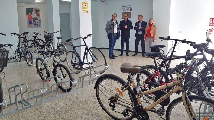 Pere Garau estrena un parking para 36 bicis