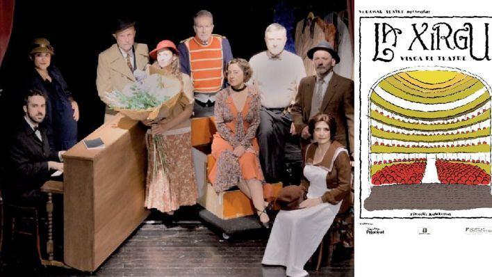 'La Xirgu. Visca el teatre' abre la Mostra de Teatre de Andratx
