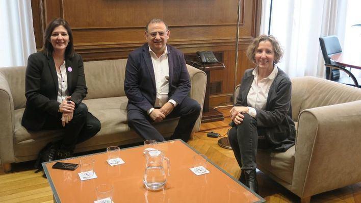 Rodríguez Badal pide a Aina Calvo más efectivos de la Guardia Civil