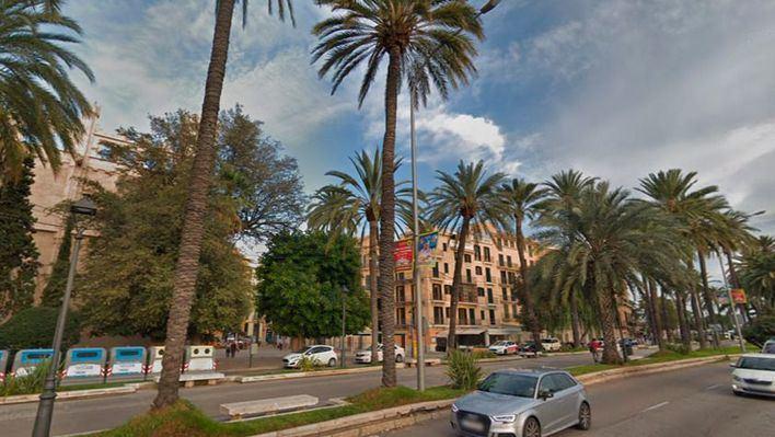 Cort prohíbe a los peatones acceder al Passeig Sagrera a causa de la Alerta Naranja