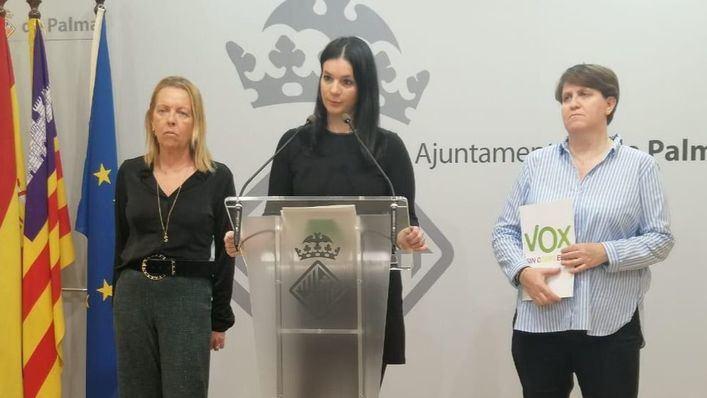 """Sandra Barceló (Vox): """"No participaremos en ningún acto de la izquierda enloquecida que grita a los hombres el violador eres tú"""