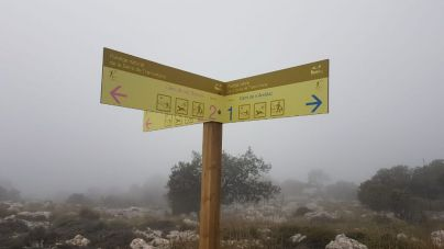 La Federación de Montaña exige una mejor señalización de la Serra 'para ahorrar disgustos'