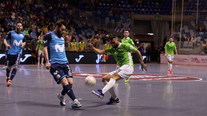 El Movistar Inter se erige otra vez en el verdugo del Palma Futsal en la Copa de España