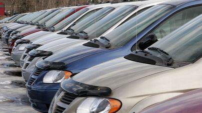 La venta de vehículos de ocasión cae un 9,85 por ciento en un año en Baleares