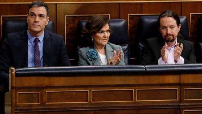 PSOE y Podemos acuerdan 'poner freno' a desahucios por impago del alquiler