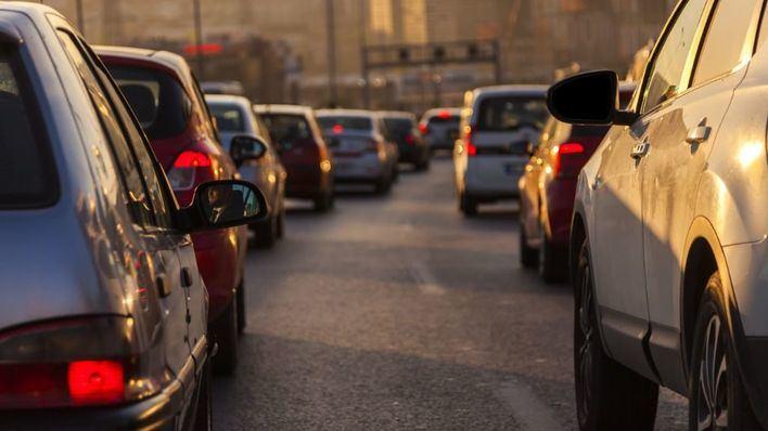 Colas de más de 5 kilómetros por un accidente en la Autopista de Andratx