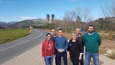 El PP reclama mejoras en la carretera que une sa Pobla con s'Albufera