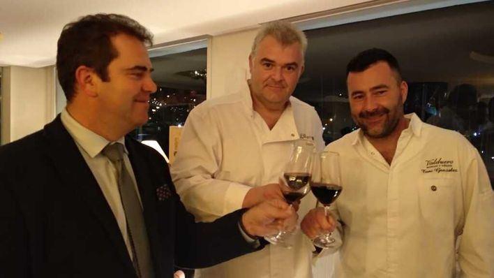 El Náutico de Palma acoge una cena-maridaje entre dos estrellas Michelín y los vinos de Valduero