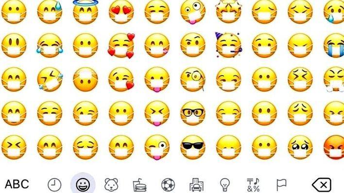 Los emojis se protegen contra el coronavirus