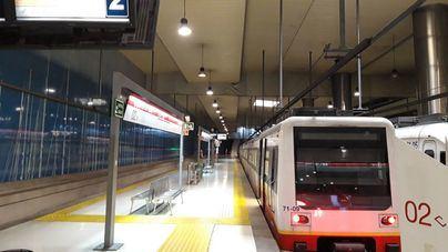 El metro de Palma suma un 11 por ciento de usuarios en enero