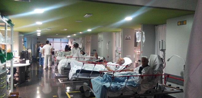 Servicio de Urgencias del Hospital Universitario Son Espases.