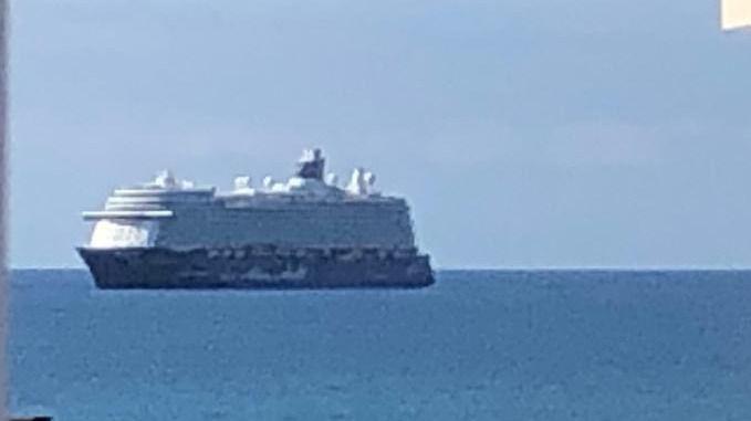 Dos mil pasajeros de dos cruceros llegan a Palma y son trasladados al aeropuerto