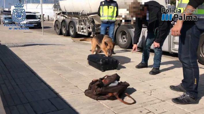 Detenido con más de 3 kilos de cocaína en el Puerto de Palma