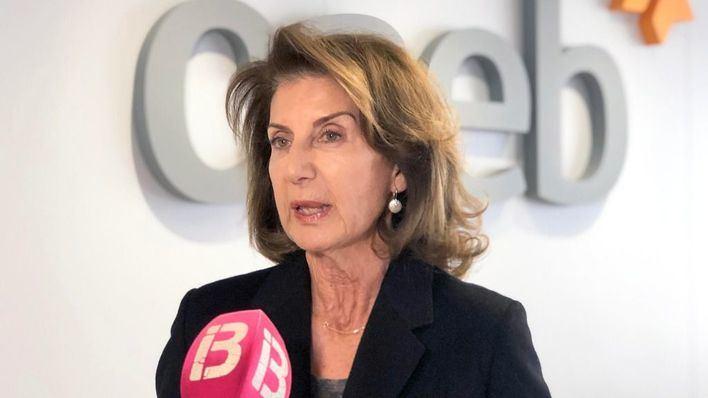 Carmen Planas, presidenta de la CAEB: 'El tejido empresarial es fuerte pero va a afectar a todos'