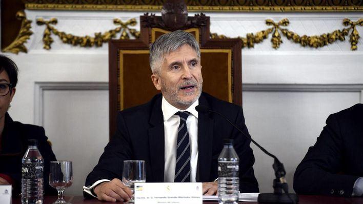 Marlaska preside la primera reunión del Comité Estatal de Protección Civil