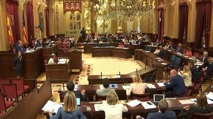 El Parlament balear suspende todas las sesiones plenarias y comisiones