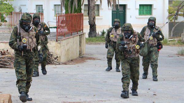 Equipos de guerra bacteriológica del Ejército se desplazan a Palma