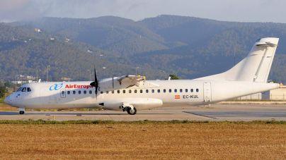 Air Europa cancela sus vuelos interislas hasta el 30 de abril