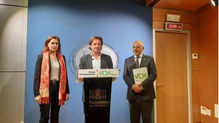 Vox pide convocar la Diputación Permanente por videoconferencia para 'no poner en peligro a los trabajadores del Parlament'