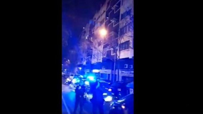 Emotivo reconocimiento de unos vecinos de Palma a la labor policial