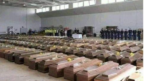 Mueren 651 personas en Italia durante el domingo y la cifra de contagiados supera los 59.000
