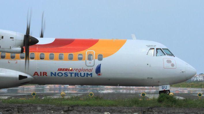 Air Nostrum aplica el ERTE a 1.439 empleados