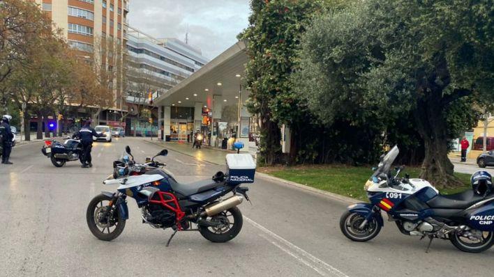 Un detenido por montar un escándalo en un supermercado de Palma y escupir a los policías