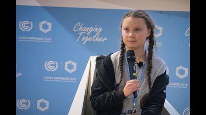 La activista Greta Thunberg, aislada con síntomas de coronavirus