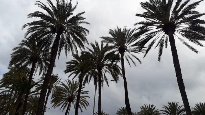 Bajada de temperaturas, nubes y chubascos ocasionales en Baleares