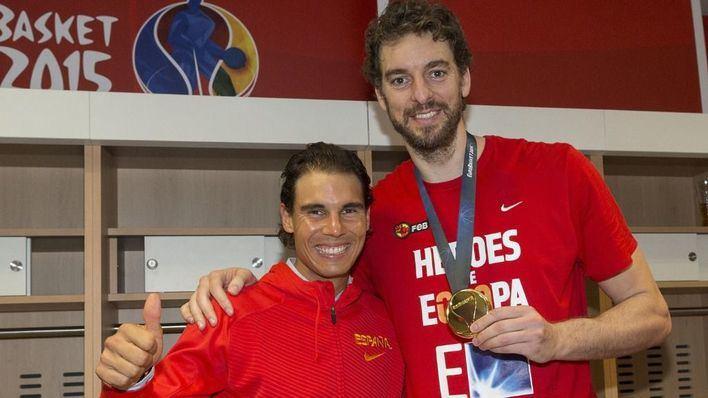 Rafa Nadal y Pau Gasol se unen para recaudar 11 millones para Cruz Roja