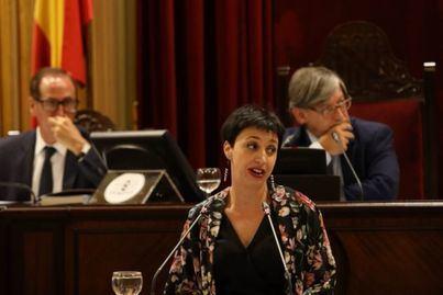 La diputada del PSIB-PSOE, Silvia Cano.