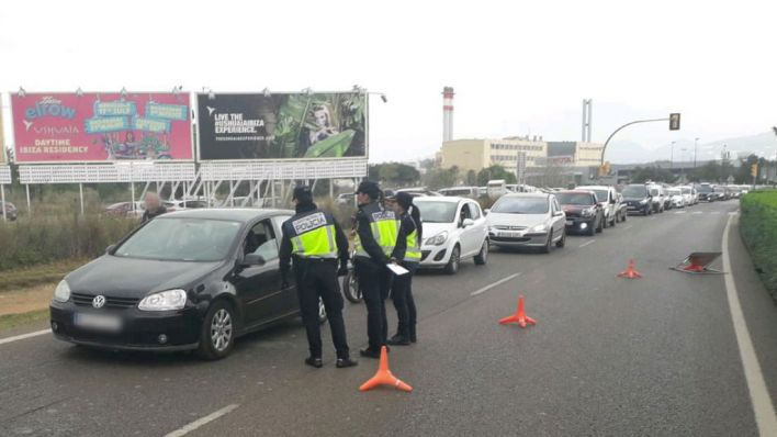 18 detenidos y 3.000 denuncias por vulnerar el estado de alarma en Baleares