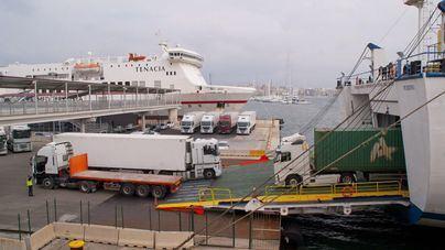 Descienden los niveles de dióxido de azufre en el puerto de Palma