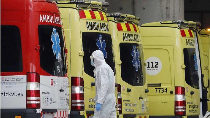 España registra 832 muertos en 24 horas por coronavirus
