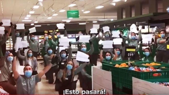 El vídeo de agradecimiento de Mercadona a sus trabajadores y proveedores