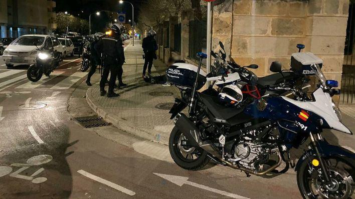 Seis detenidos en Palma por desobediencia